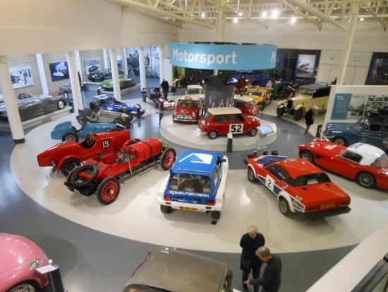 motor heritage Gaydon
