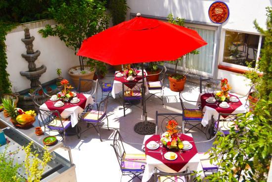 Casa de la Condesa: terraza