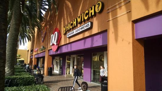 Exterior Of Which Wich In Tustin Ca