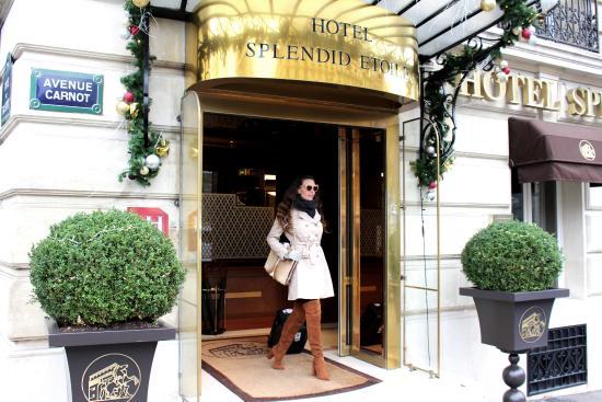 Breakfast picture of hotel splendid etoile paris for Hotels 1 etoile paris