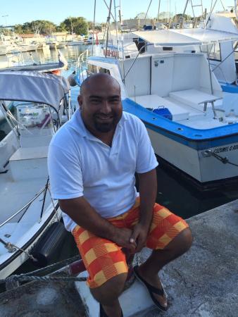 Spearfishing Today Cozumel: Captain Hernando