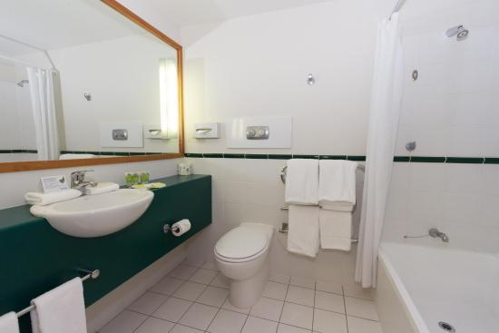سينيك هوتل فرانز جوزيف جلاسير: Bathroom
