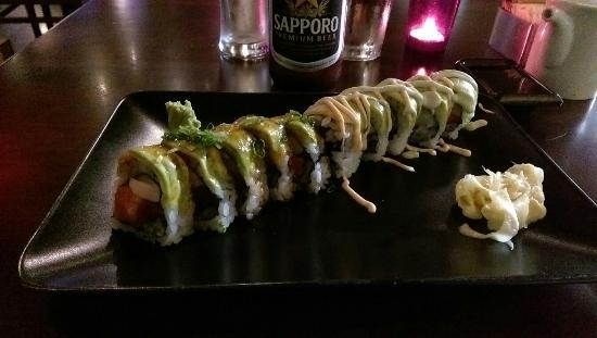 Tee Jay Thai Sushi in Wilton Manors: Sea Monster Roll