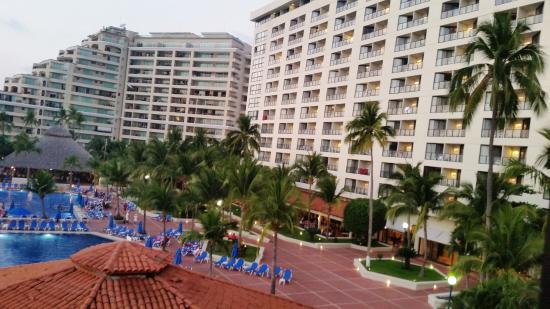view from our room of the main hotel to the right picture of rh tripadvisor com