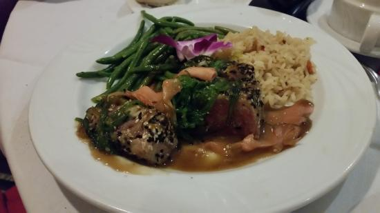 Heron's Glen: Seared Tuna