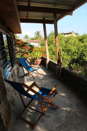 Jean's Home: Terrace