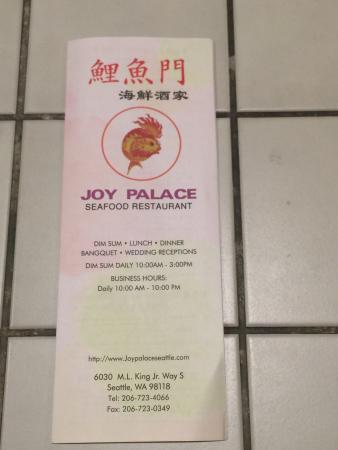 joy palace