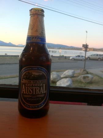 Kau Patagonia: Bella vista, rica cerveza de cortesía