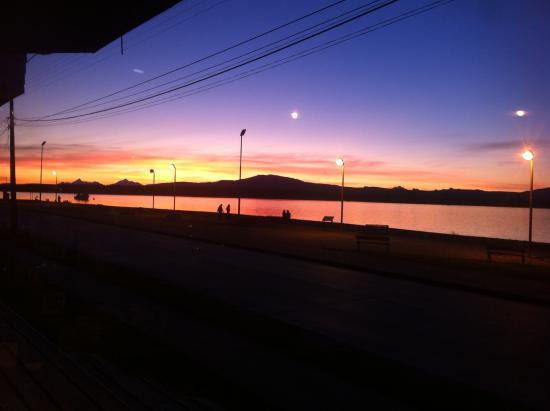 Kau Patagonia: hermoso atardecer
