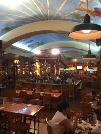 Hard Rock Cafe: 店内の雰囲気は良いですよ