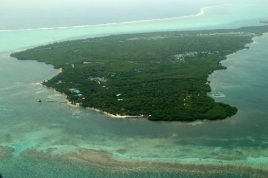 Long Caye, Belice: Our Island location