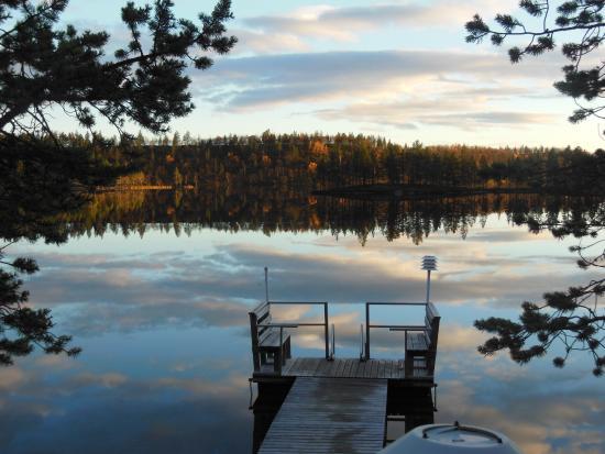 Porotila Toini Sanila: Der hauseigene Badesteg