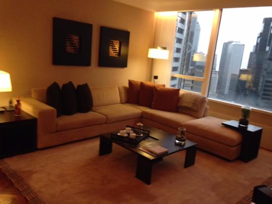 Pacific Place Apartments Living Room 2 Bedroom