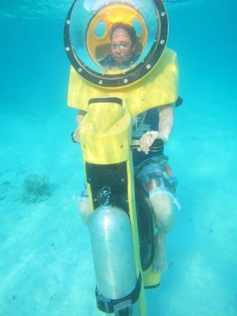 Under the sea in hydro bob