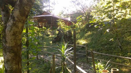 Mangan, India: Entry to the Jungle Lodge