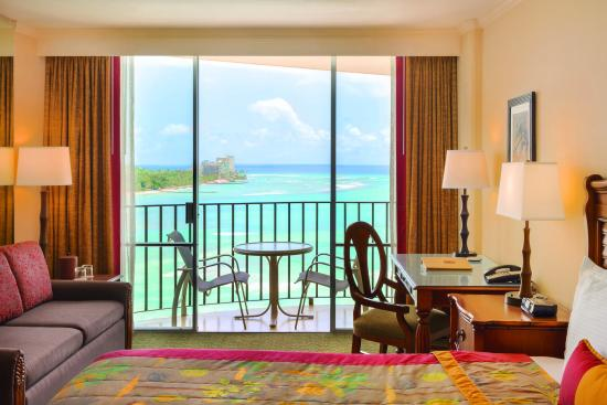 Outrigger Waikiki Beach Resort Interior Ocean Front One Bedroom Suite 2 Picture Of