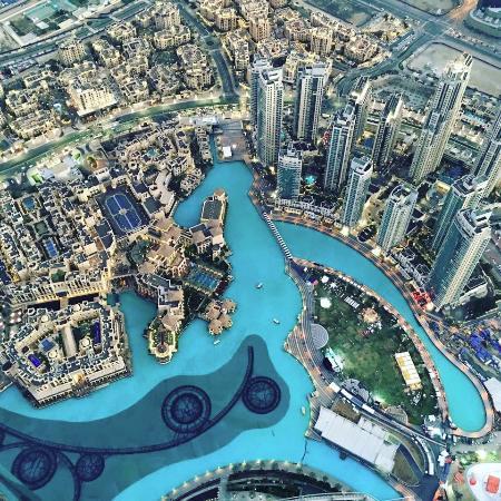 148 floors - Foto Burj Khalifa, Dubai