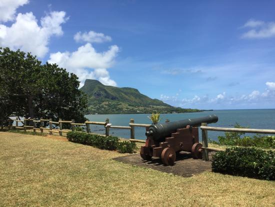 Distrito de Grand Port: Vue du Restaurant