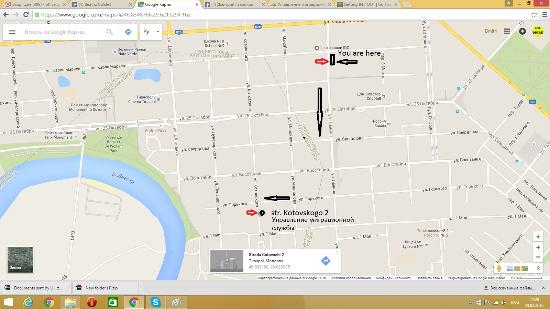 How to get to Migration office from Hostel Picture of Lenin Street