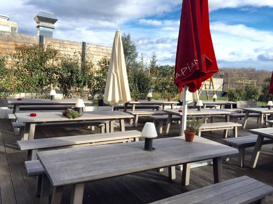 La Terrasse Du Restaurant Picture Of Vapiano Fribourg