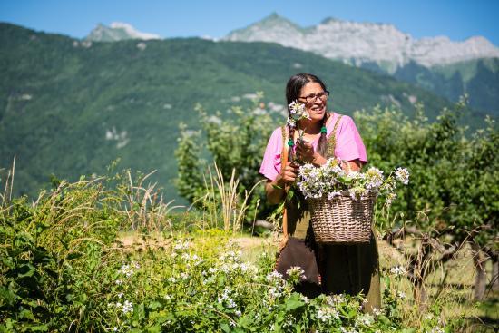 Cueillette+atelier cuisine plantes sauvages by Sabrina Sources lac d'Annecy Faverges OT/T. Nalet