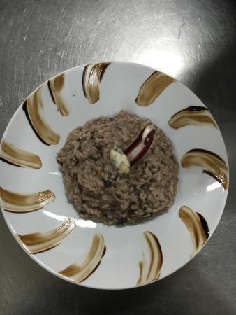 Ristorante Sabina : Risotto al radicchio e gorgonzola