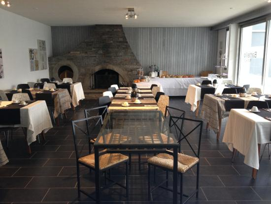Hotel Garni Battello : Breakfast room
