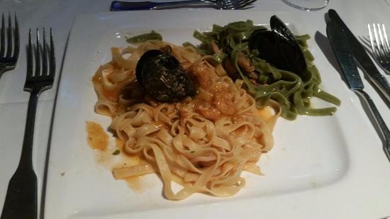 Konoba Primosten: pasta with seafood