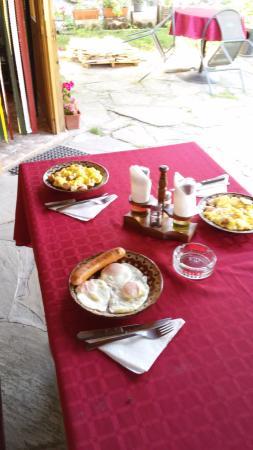 Avren, Bulgaria: Наш завтрак