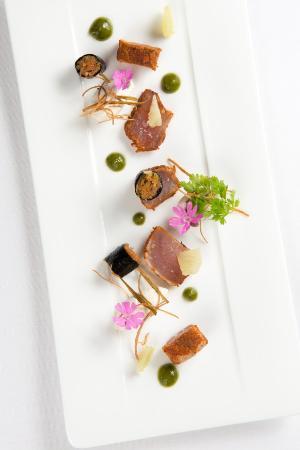 Restaurant Hotel de la Marne : Thon