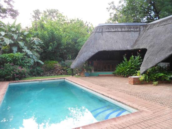 Drifters' Victoria Falls Inn: Good pool for the summer heat !