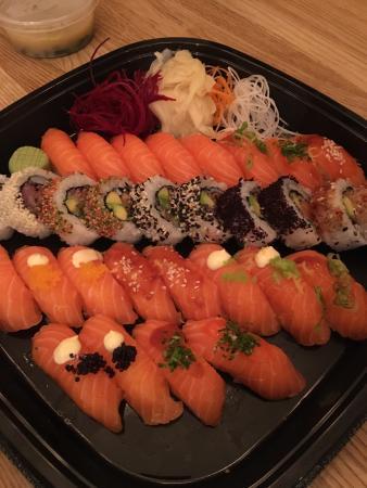 Godaste sushi i Norra sthlm