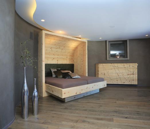 Wasserbett design  Wasserbett im Ruhebereich der Sauna - Landhotel zum Bad, Krun ...