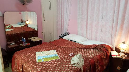 Casa Manolo: la chambre