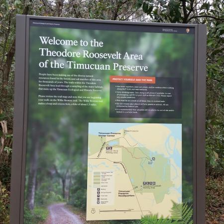 Theodore Roosevelt Area: Sign