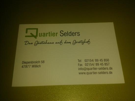 Quartier Selders
