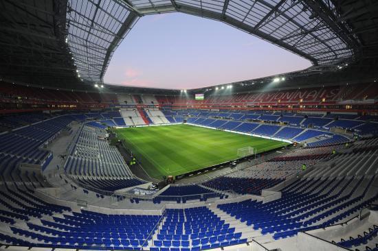 Decines-Charpieu, France : Stade