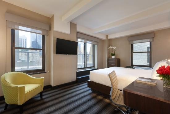 Hotel Edison Times Square : Signature King room with Terrace