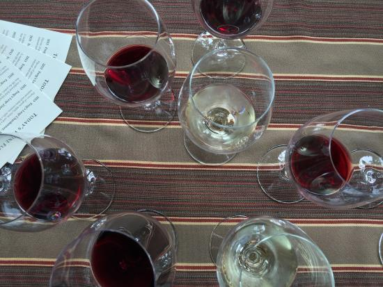 Rutherford, Kaliforniya: Wine flight