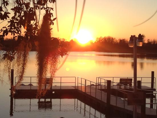 Grand Lake Resort: Very nice dock area.