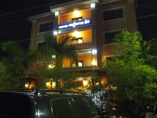 Siem Reap Niche Hotel: Il hotel da fuori