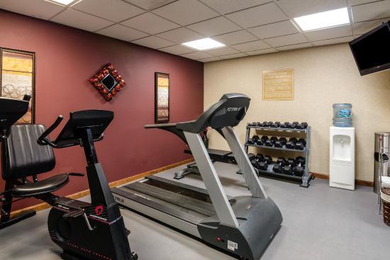Comfort Inn Waynesboro: Fitness Room