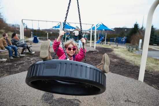 Stepping Stones Museum for Children: Stepping Stones Children's Museum, Norwalk, CT playground