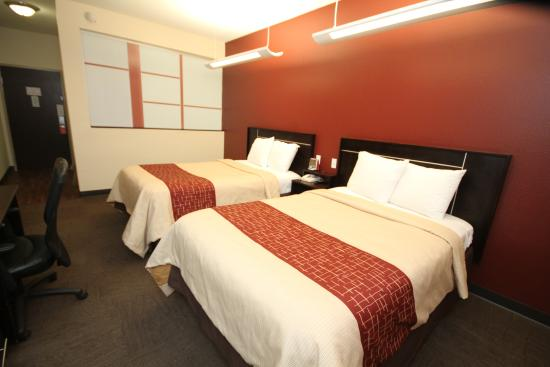 Red Roof Inn & Suites Beaumont: Brand New 2 Beds