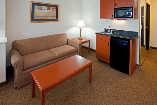 Holiday Inn Express San Angelo: Sleeper Sofa in King room