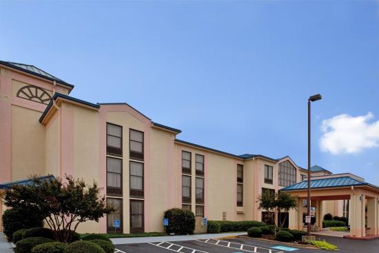 Anderson, Carolina del Sur: Hotel Exterior