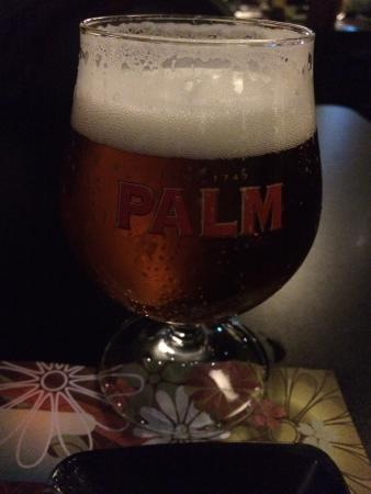 Kiyoshi - Sushi & Grill: Palm beer on tap