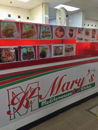 Mary\'s kitchen. - Picture of Mary\'s Mediterranean Kitchen ...
