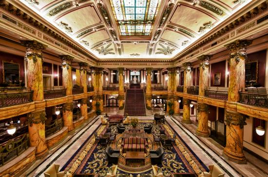 The Jefferson Hotel: The Jefferson SGrand Staircase And Rotunda Lobby