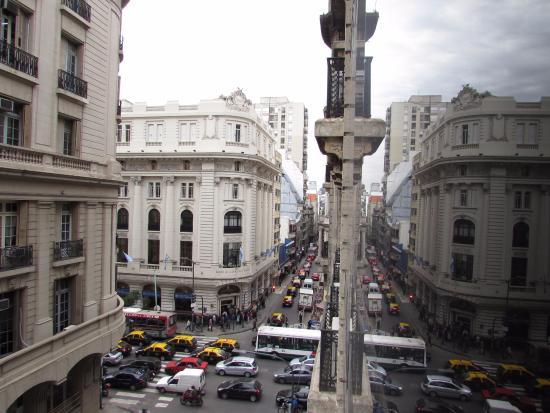 Apart Hotel & Spa Congreso: Vista do quarto às 09:00 durante a semana